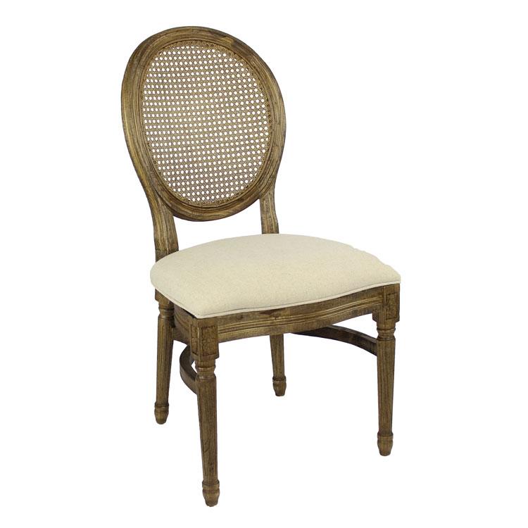 Cane Back Louis Pop Chair Detroit Chiavari Right Side