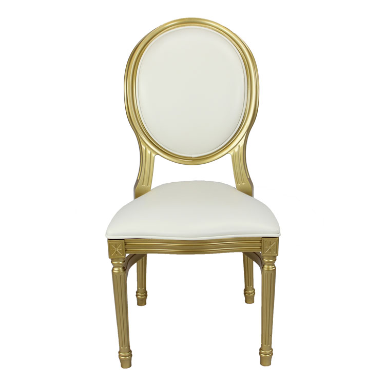 Gold-Louis-Pop-Chair-Detroit Chiavari Front
