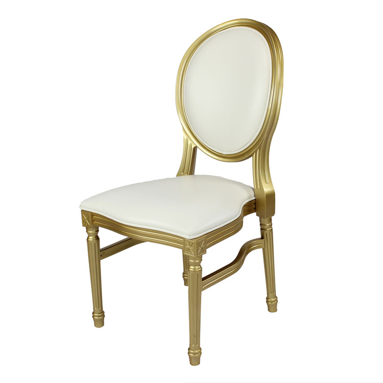 Gold-Louis-Pop-Chair-Detroit Chiavari Left Side