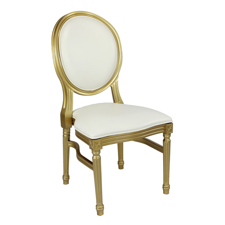 Gold-Louis-Pop-Chair-Detroit Chiavari Right Side