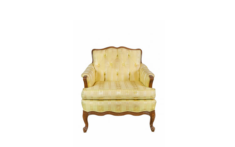 Agnes Yellow Chair Detroit Chiavari