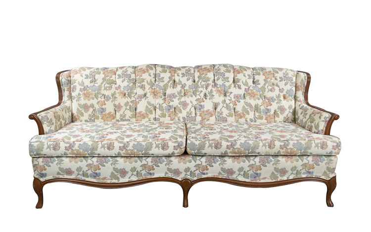 Amelia Floral Sofa Detroit Chiavari
