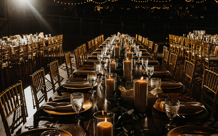 Detroit Chiavari Farm Table Wedding The Garden Theater Amanda Lalama Photography 11
