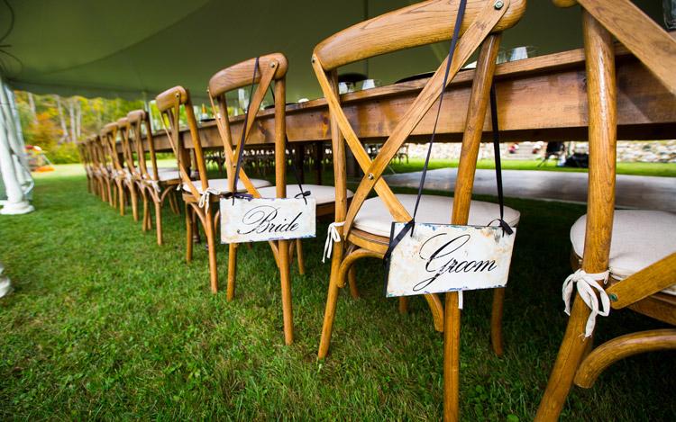 Detroit Chiavari Farm table Farm Chair Cross Back Chair Michael Terri Studios 15