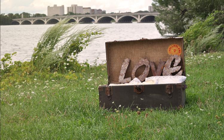 Detroit Chiavari Rusty LOVE Letters 1