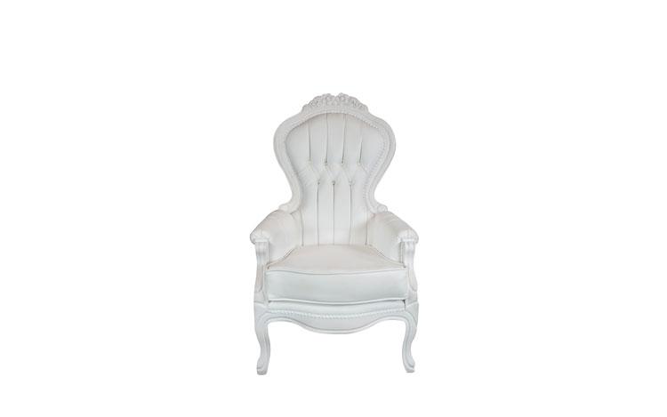 Elizabeth White Chair Detroit Chiavari