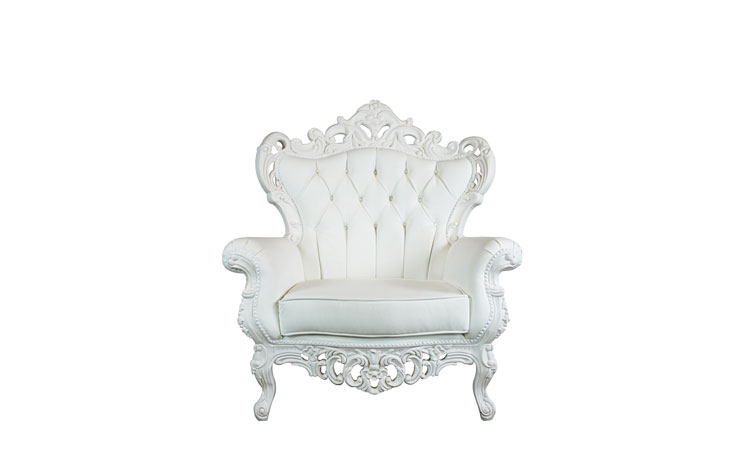 King White Chair Detroit Chiavari