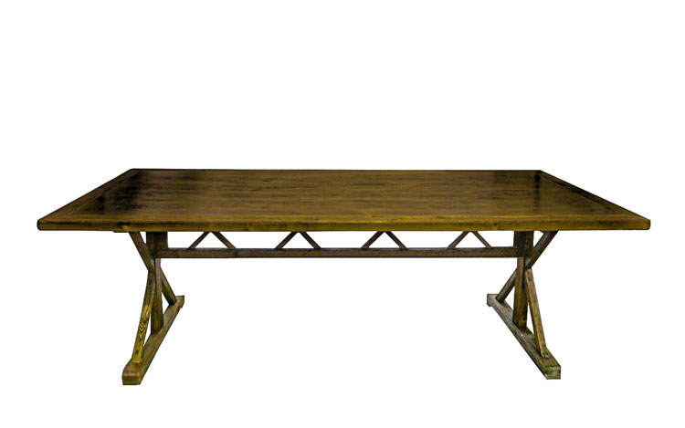 Premier 8ft Farm Table Detroit Chiavari Top