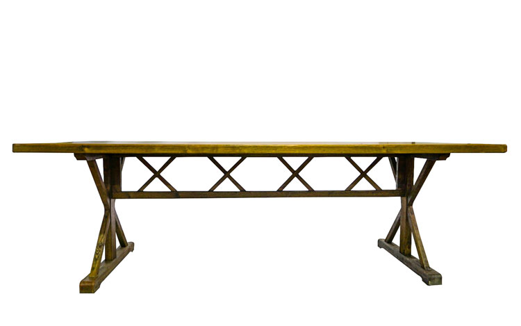 Premier 8ft Farm Table Detroit Chiavari