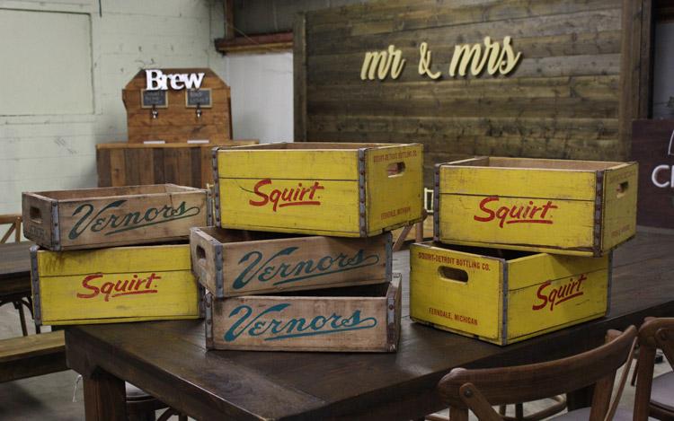 Vernors Crate Squirt Crate Detroit Chiavari