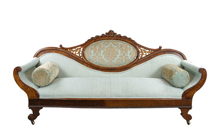 Victorian Sofa Detroit Chiavari